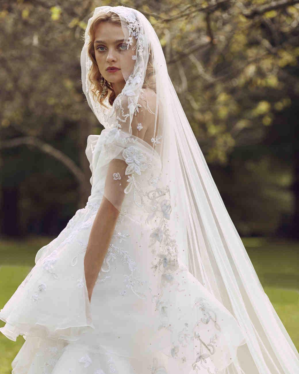 Fall 2019 Wedding Dresses By Marchesa Arabia Weddings