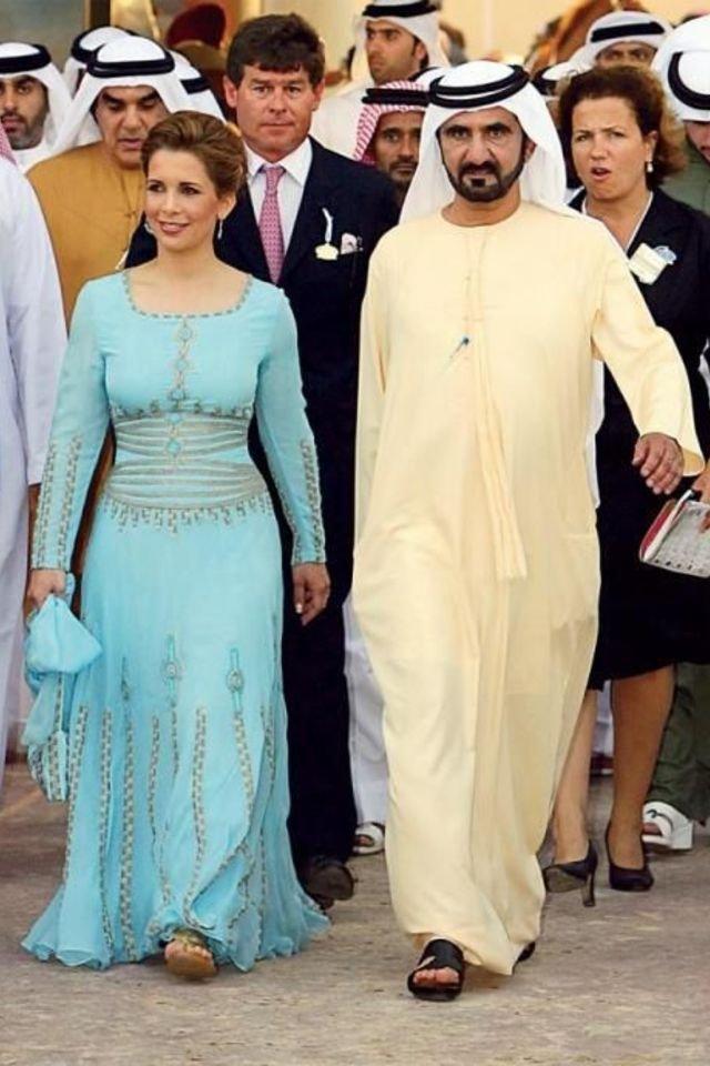 Jordanian princess makes first public appearance since ... |Jordanian Princess Haya Bint Al Hussein