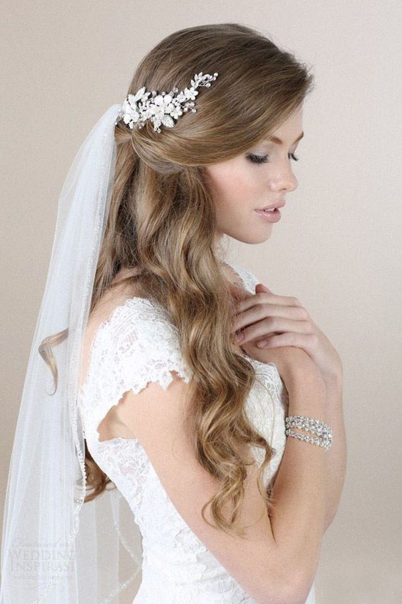 Curly Bridal Hairstyles Arabia Weddings