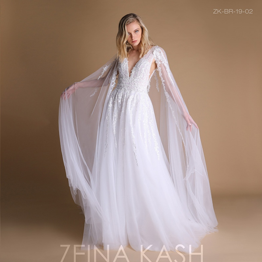 Zeina Kash 2019 Bridal Collection Arabia Weddings