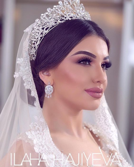 Wedding Hairstyle For Long Hair With Veil: Bridal Hairstyles With Tiaras