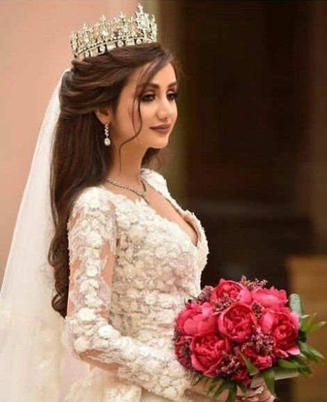 Bridal Hairstyles With Tiaras Arabia Weddings