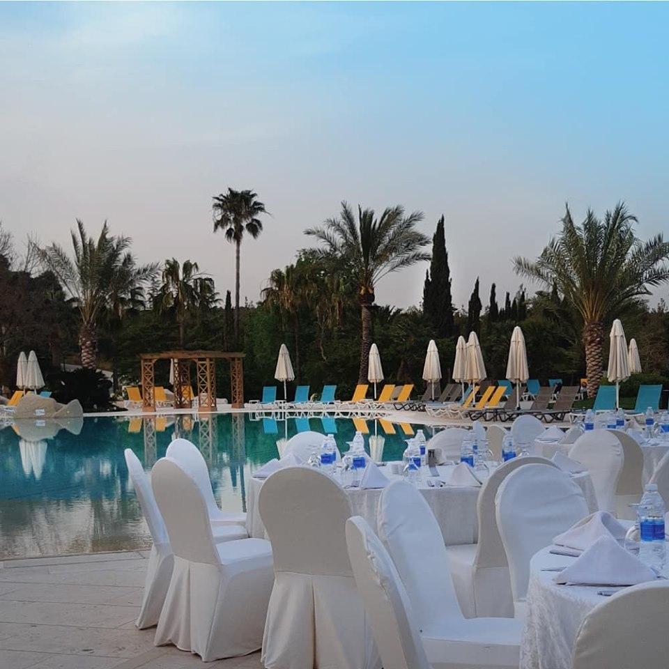 Outdoor Wedding Ceremony Locations: Amman Outdoor Wedding Venues