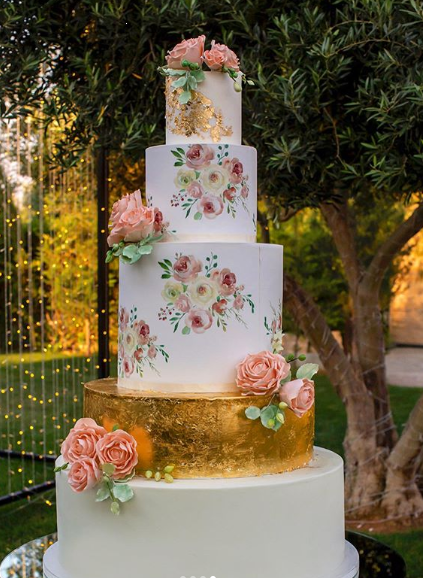 Beautiful 2019 Wedding Cakes Arabia Weddings