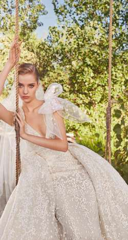 Elie Saab Fall 2021 Wedding Dress Collection