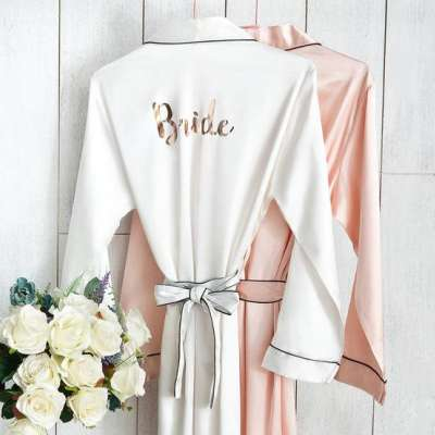 The Most Beautiful Bridal Robes