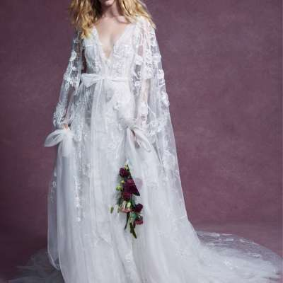 Beautiful Bridal Cover Ups for Winter