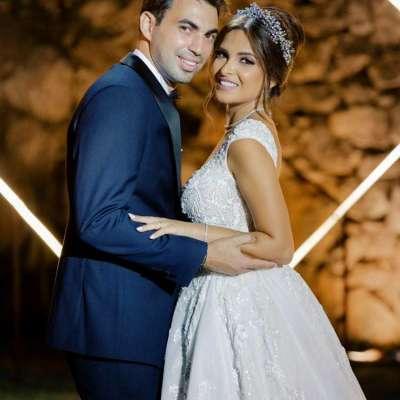 حفل زفاف من وحي الحديقة الرومانسية في لبنان