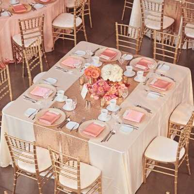Fabulous Rose Gold Wedding Theme
