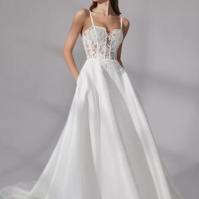 مجموعة فساتين زفاف جاستين الكسندر لخريف عام 2021