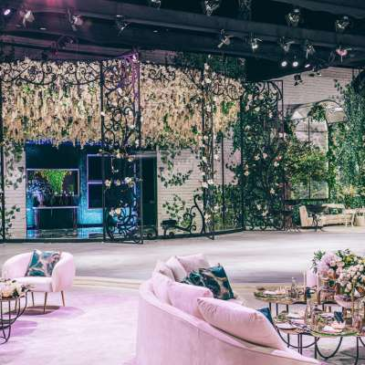 A Miraculous Garden Wedding in Qatar