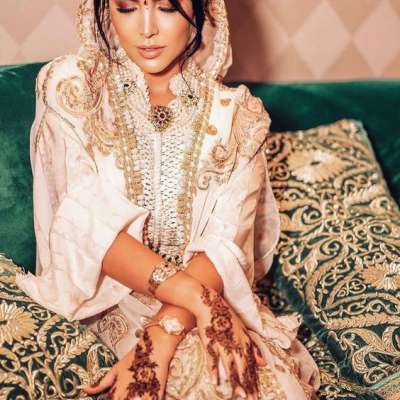 Luxurious Moroccan Jellabiya for Brides