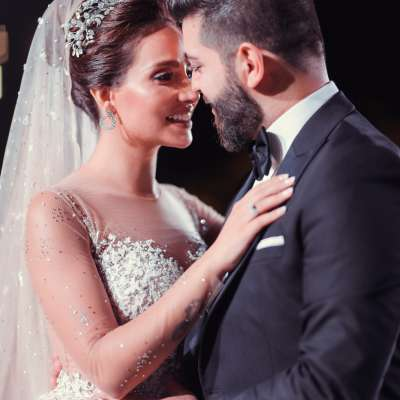 A Vintage Romantic Wedding in Lebanon