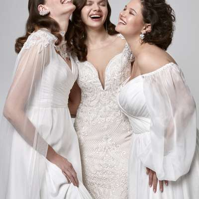 Wona Plus Size Wedding Dresses
