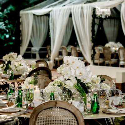 A Luxurious Alfresco Wedding in Qatar