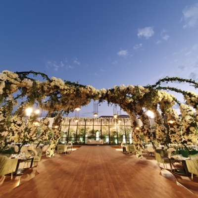 A Garden Bliss Wedding in Qatar
