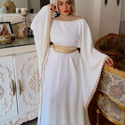 White Abayas for the Bride