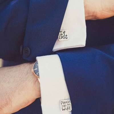 Cufflinks for the Groom