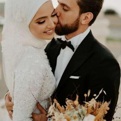 حفل زفاف ميرنا وأحمد الساحر في لبنان