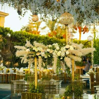 Lina & Mahmoud's Outdoor Wedding in Cairo