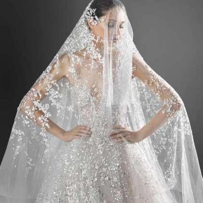 موديلات فساتين زفاف فخمه لعام 2021