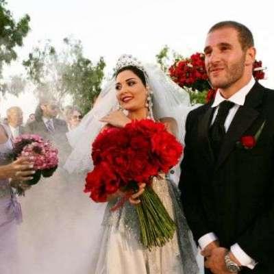 حفل زفاف سيرين عبد النور وفريد رحمة