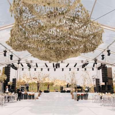 حفل زفاف من وحي الأناقة الريفية في مصر