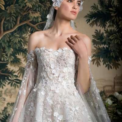 فساتين زفاف جورج حبيقة لربيع وصيف 2022