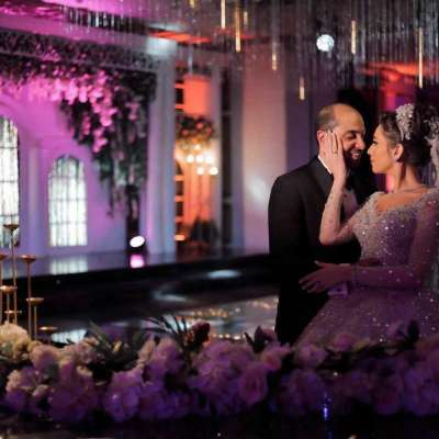 An All Glamour Wedding in Cairo