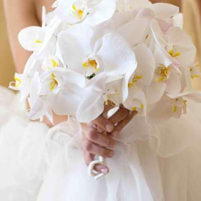 Lovely Wedding Bouquets With Orchids