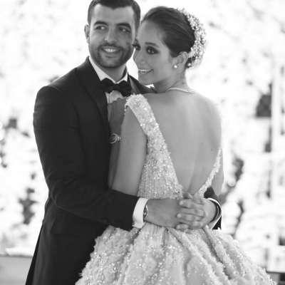 Lana El Sahely and Ali Awada's Wedding