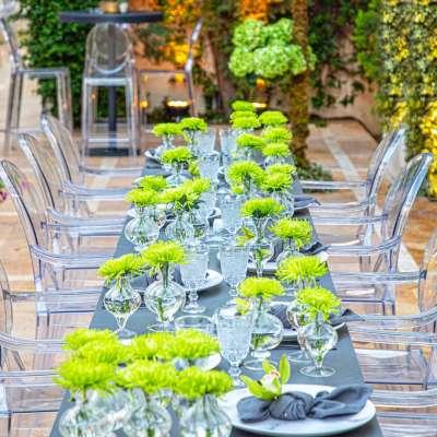 A Fifty Shades of Green Wedding in Amman
