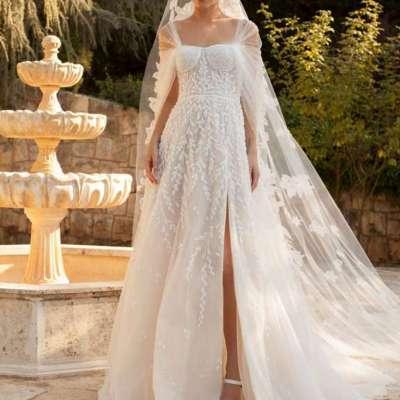 احدث فساتين زفاف 2021 من أشهر المصممين العرب