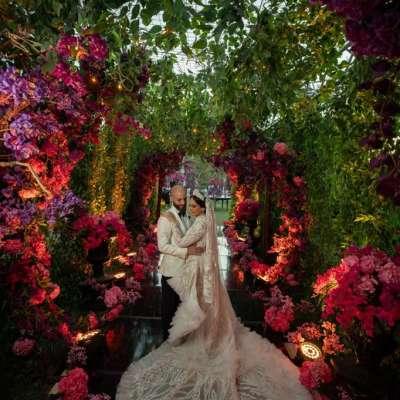 A Vibrant Outdoor Wedding in Cairo