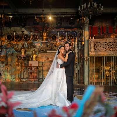 A Divine Romantic Wedding in Lebanon