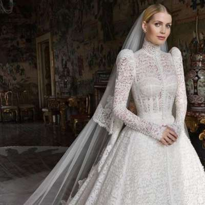Lady Kitty Spencer and Michael Lewis' Wedding