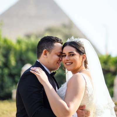 A Dreamy Floral Wedding in Egypt