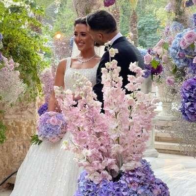 حفل زفاف بألوان الباستيل في عمان