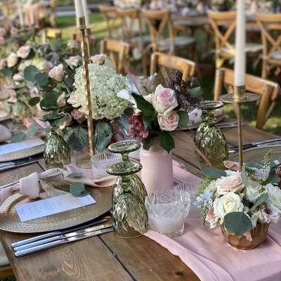 A Blush Pink Summer Wedding in Lebanon