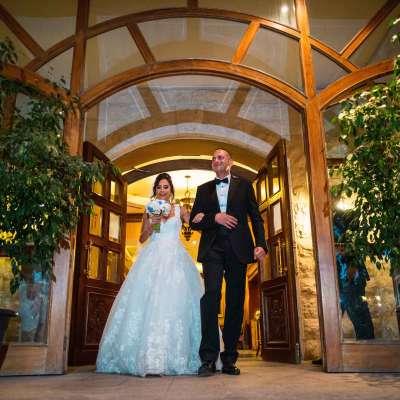 A Charming Garden Wedding in Amman