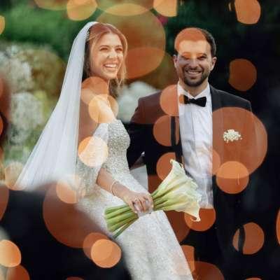 An Enchanting Garden Wedding in Lebanon