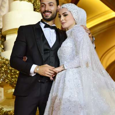 حفل زفاف جنى ومحمد في لبنان