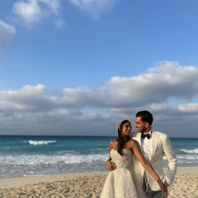 A Tropical Wedding at The North Coast in Egypt