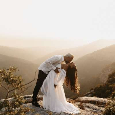 A Fairytale Outdoor Wedding in Lebanon