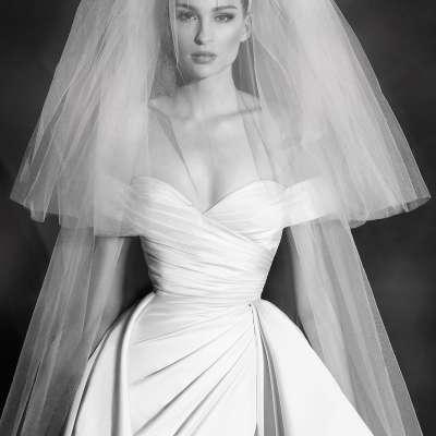 مجموعة فساتين زفاف زهير مراد لربيع 2022