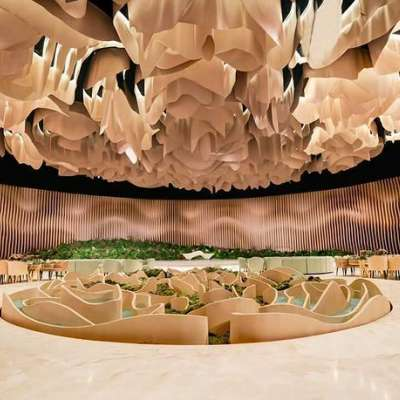 A Desert Wedding Theme in Doha