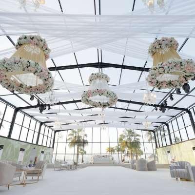 A Wonderful Glasshouse Wedding in Qatar
