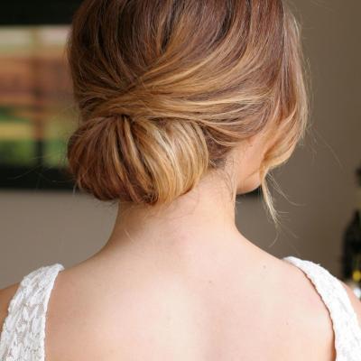 تسريحات شعر ناعمة للعروس
