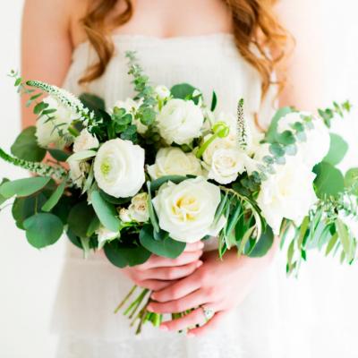 مسكات وبوكيهات ورد للعروس