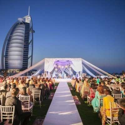 أماكن لوجهات حفلات الزفاف
